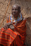Maasai bibi Daniel, copyright Karen Smith, 2009