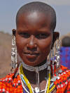 Maasai Woman, copyright Karen Smith, 2009
